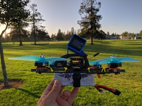 FlexRC Ascent X 5+ - GoPro Session Mount 30, 45, 50 and 60 Deg Angle