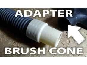 Adapter brush cone (vacuum cleaner)
