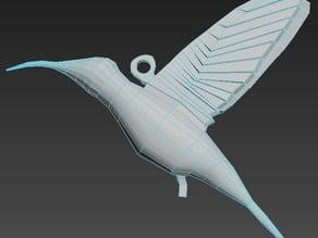 coliber bird necklet