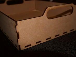 LaserCut 6mm MDF Carry Box