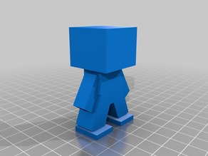 Minecraft Mini Figure (Corectly Sized)