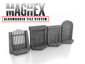 MagHex Doors for Gloomhaven