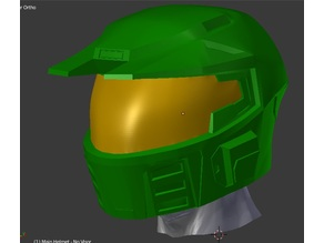 Halo 3 - Mjolnir Mark 5 Helmet