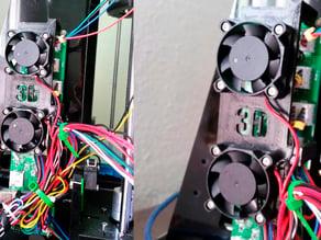 40mm (x2)fan holder board prusa I3