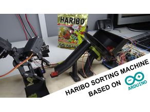 DIY Haribo sorting machine with Arduino