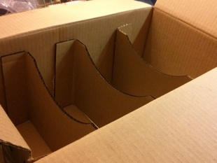 Laser Cut Cardboard Partition Generator