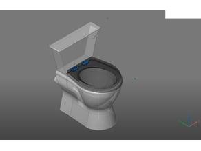 BricsCAD simplfied toilet