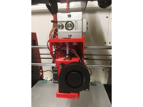 Anet A8 or Prusa i3 direct Bulldog extruder with E3Dv6 Carrage