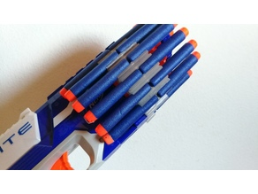 Nerf Disruptor round dart holder