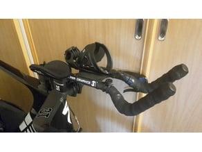 Bike aerobar BTA bottle cage mount