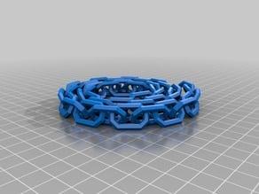 40 Link spiral chain