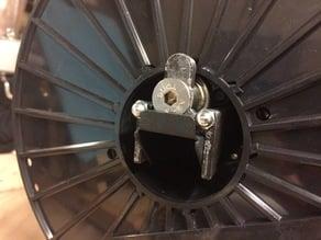Buddha Inside reel spool holder