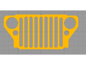 Willys MB / Ford GPW Jeep Grill