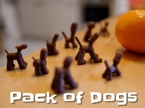 Configurable pack of dogs