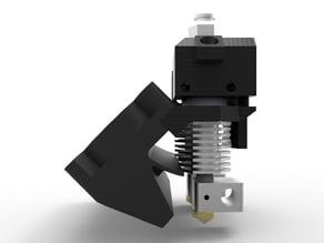 Prusa i3 rework Dual bowden extruder 1.75mm direct Drive ajustable