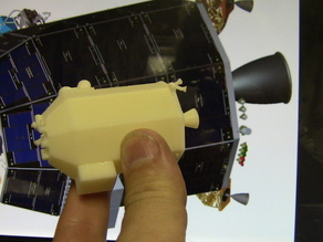 NASA's LADEE Satellite (fan model, not from any NASA documentation)