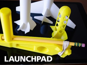 LaunchPad with Rockets and a Plane