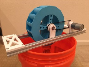 Water Turbine School Science Experiment