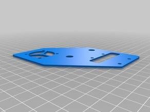 Rc Car Fan Mount Plate for 30mm fan for Arrma