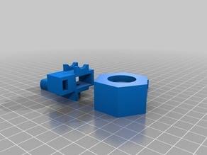 A6 x axis belt tensioner