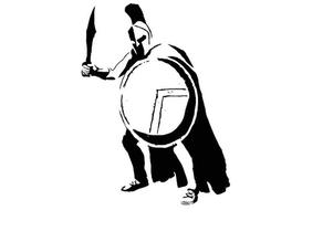 Spartan stencil