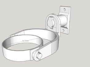 Self-leveling cupholder, 2-axis gimbal