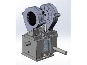 K8400 printhead with IGUS/LM8UU bearing holder & E3d v6