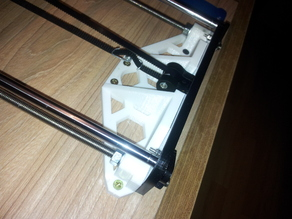 Frame brace for Anet A6