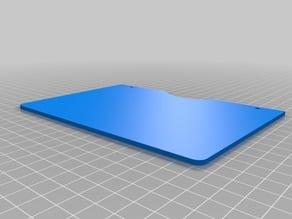 Ciclop 3D scanner, Calibration template plate