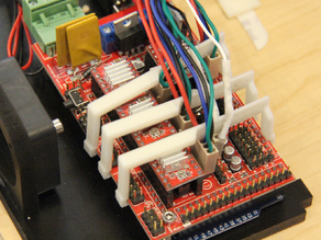 RAMPS 1.4 board connectors hold down