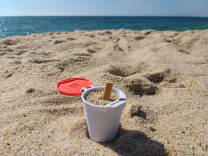 BEACH ASHTRAY (easy print)