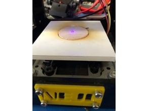 "Laser bed center NEJE 1.5"" round"