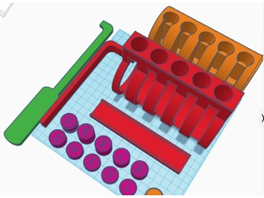 Demo Lock v1 - Giant Cutaway Pin and Tumbler Lock for Teaching Lock Picking