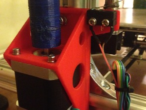 K8200 Z axis motor mount by GreGor with Z stop switch mount