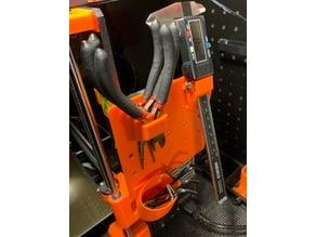 Prusa Mk3 Custom Tool Holder (Peg Board Customizable!)