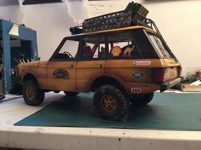 Scale body 1/10  RANGE ROVER (313mm) by RC GANG 93