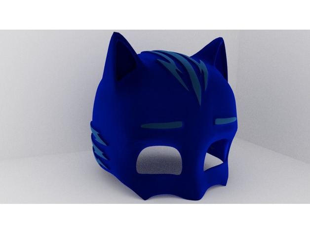 Cool Cat Boy Cowl Pj Masks By Fabquinn Thingiverse Andrewgaddart Wooden Chair Designs For Living Room Andrewgaddartcom