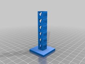Temp Calibration Tower 200-220