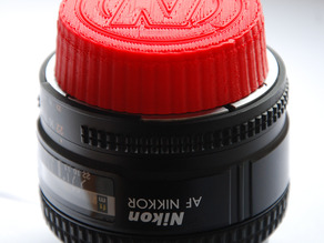Cap for Nikon F-Mount lenses