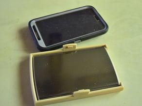 Samsung Galaxy Note 2.BlackWeb Battery Holder for Otterbox Case