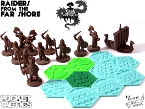 Pocket Tactics: Raiders from the Far Shore (Second Edition)
