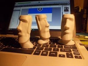 moai Easter Island head redux