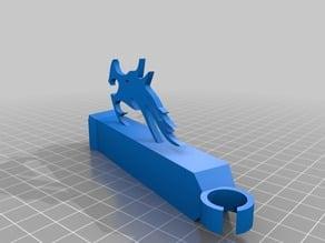Ender 3 Logo Snap In Filament Guide Arm