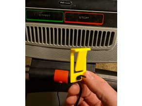 Treadmill Safety Key Clip Replacement - Clothes Clip with Hole