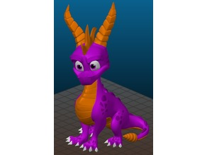 Spyro Statue - Reignited Trilogy - multicolor