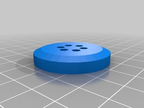 35 mm x 6 mm round button with 6 holes