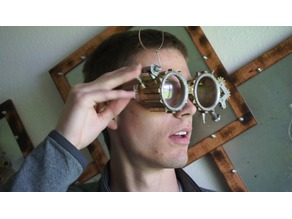 Steampunk Safety Glasses