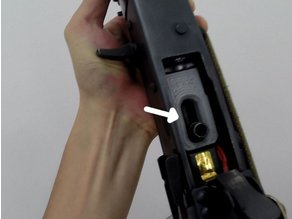 Snap-fit Magwell Spacer for E&L AK airsoft