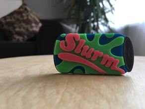 Slurm Can Keychain! (futurama)