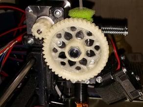 HerringBone Extruder Gear Prusa i3 Rework